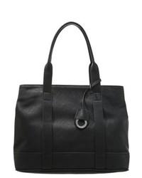 schwarze Shopper Tasche aus Leder von Anna Field