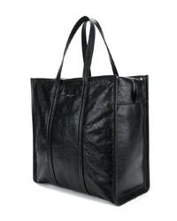 schwarze Shopper Tasche aus Leder von Balenciaga