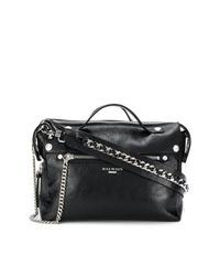 schwarze Shopper Tasche aus Leder von Balmain
