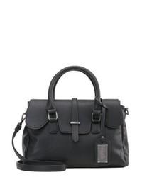 schwarze Shopper Tasche aus Leder von Buffalo
