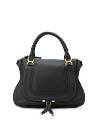 schwarze Shopper Tasche aus Leder von Chloé