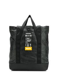 schwarze Shopper Tasche aus Leder von Diesel