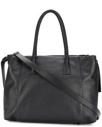 schwarze Shopper Tasche aus Leder von Fabiana Filippi