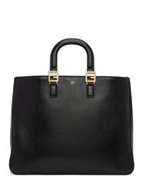 schwarze Shopper Tasche aus Leder von Fendi