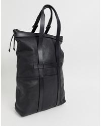 schwarze Shopper Tasche aus Leder von G Star