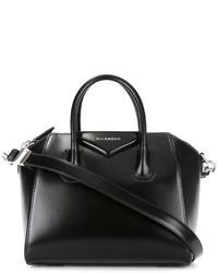 schwarze Shopper Tasche aus Leder von Givenchy