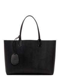 schwarze Shopper Tasche aus Leder von Gucci
