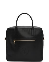 schwarze Shopper Tasche aus Leder von Honey Fucking Dijon