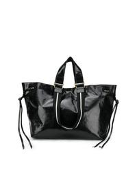 schwarze Shopper Tasche aus Leder von Isabel Marant