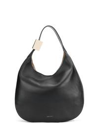 schwarze Shopper Tasche aus Leder von Jimmy Choo