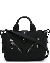 schwarze Shopper Tasche aus Leder von Kenzo