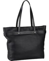 schwarze Shopper Tasche aus Leder von Liebeskind Berlin