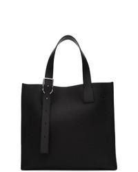 schwarze Shopper Tasche aus Leder von Loewe
