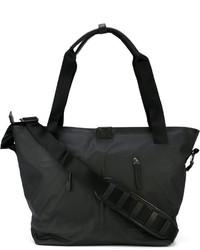 schwarze Shopper Tasche aus Leder von Nike