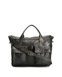schwarze Shopper Tasche aus Leder von Numero 10