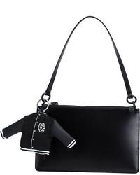 schwarze Shopper Tasche aus Leder von Opening Ceremony