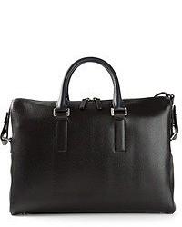 schwarze Shopper Tasche aus Leder von Paul Smith
