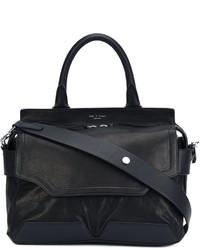 schwarze Shopper Tasche aus Leder von Rag & Bone