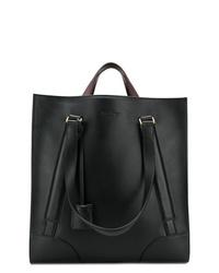 schwarze Shopper Tasche aus Leder von Salvatore Ferragamo