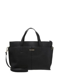 schwarze Shopper Tasche aus Leder von Steve Madden