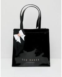 schwarze Shopper Tasche aus Leder von Ted Baker