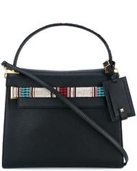 schwarze Shopper Tasche aus Leder von Valentino Garavani