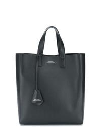 schwarze Shopper Tasche aus Leder von Versace Collection