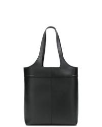 schwarze Shopper Tasche aus Leder von Victoria Beckham