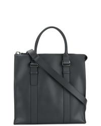 schwarze Shopper Tasche aus Leder von Zanellato
