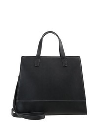 schwarze Shopper Tasche aus Leder von Zign