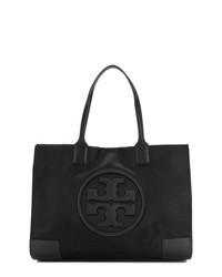 schwarze Shopper Tasche aus Nylon von Tory Burch