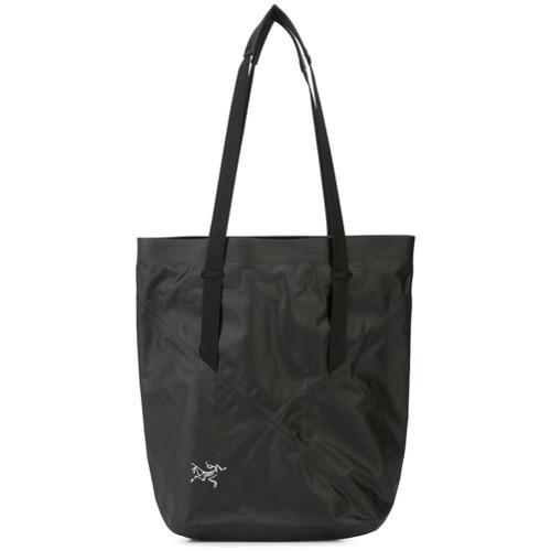 schwarze Shopper Tasche aus Segeltuch von Arc'teryx