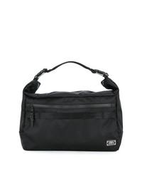 schwarze Shopper Tasche aus Segeltuch von As2ov
