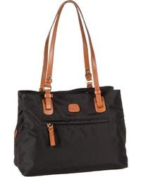 schwarze Shopper Tasche aus Segeltuch von Bric's