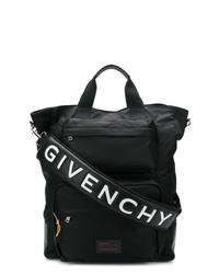schwarze Shopper Tasche aus Segeltuch von Givenchy