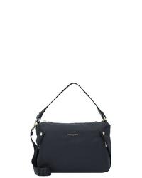schwarze Shopper Tasche aus Segeltuch von Hedgren