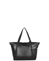 schwarze Shopper Tasche aus Segeltuch von Pacsafe