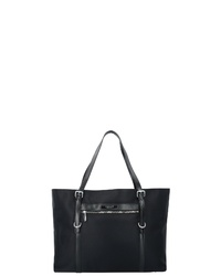 schwarze Shopper Tasche aus Segeltuch von RONCATO