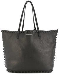 schwarze Shopper Tasche von Dsquared2