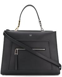 schwarze Shopper Tasche von Fendi