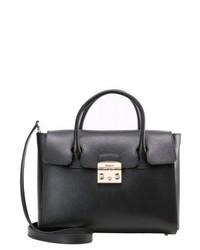 schwarze Shopper Tasche von Furla