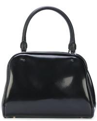 schwarze Shopper Tasche von Maison Margiela