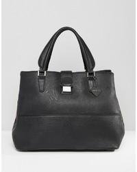 Schwarze Shopper Tasche von Marc B