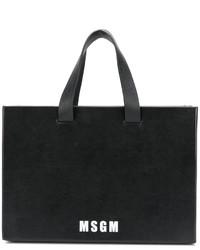 schwarze Shopper Tasche von MSGM