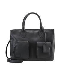 Schwarze Shopper Tasche von Picard