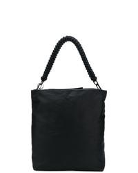 schwarze Shopper Tasche von Rick Owens
