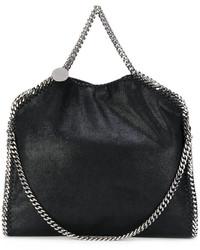 schwarze Shopper Tasche von Stella McCartney