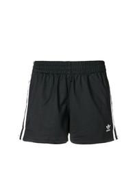 schwarze Shorts von adidas