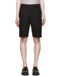 schwarze Shorts von AMI Alexandre Mattiussi