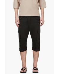 schwarze Shorts von Balmain